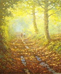 Forest Trail by James Preston - Limited Edition on Paper sized 10x11 inches. Available from Whitewall Galleries